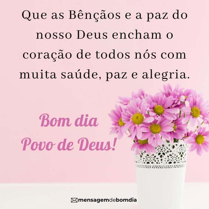 Bom Dia Povo de Deus