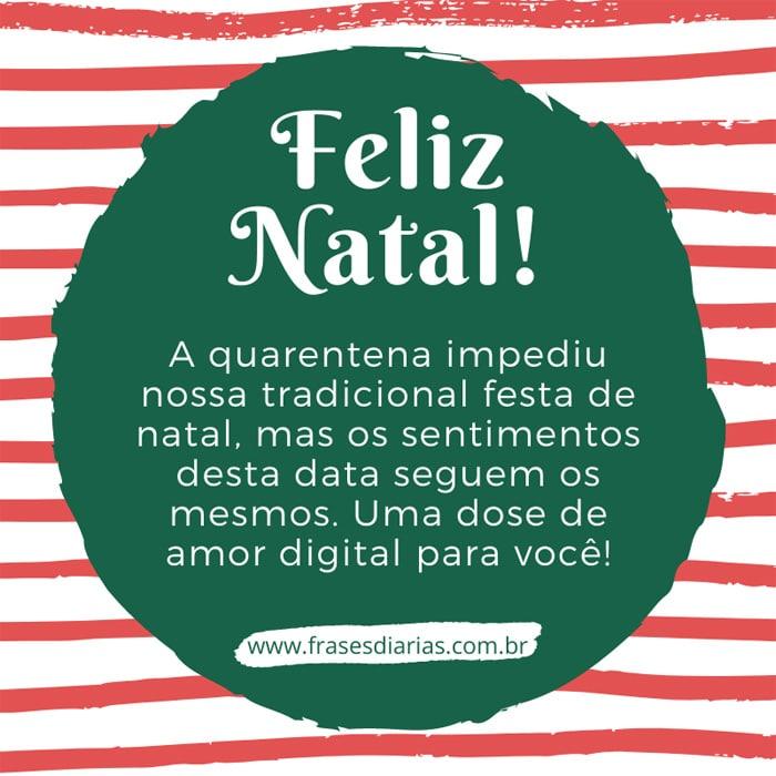 mensagem de feliz natal pandemia a quarentena impediu nossa tradicional festa de natal